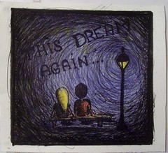 Dark Dream (grainderizz) Tags: love night artwork cartoon dream drawings dessin camel margot nuit d previous keny rve grainderizz g2rizz