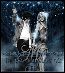 Michael Jackson & Britney Spears - The Way You Make Me Feel (FrankyI'm Back) Tags: me make way michael you spears feel jackson britney the