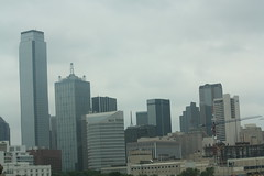 Dallas Skyline (Adam's Journey) Tags: vacation dallas texas skylines favorites 2010 i30 interstate30 canonxsi