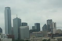 Dallas Skyline (Adam's Journey) Tags: vacation dallas texas skylines favorites 2010 i30 interstate30 canonxsi