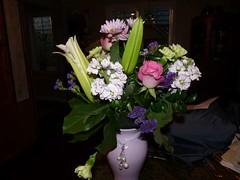 Flowers for Mom!