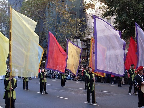 Desfile de la Comunidad japonesa en buenos aires
