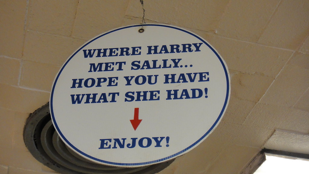 when harry met sally restaurant