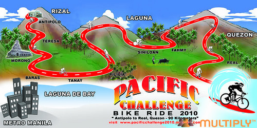 Pacific Challenge Bike Ride 2010