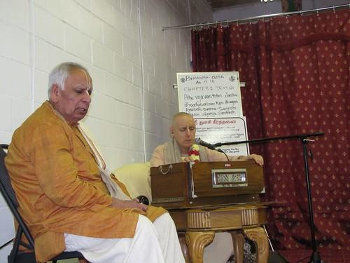 Sankarsana Prabhu visit ISKCON Scarborough -0007 por ISKCON desire  tree.