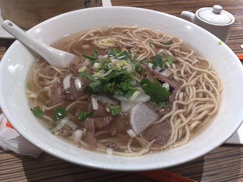 authentic Lanzhou beef noodle soup