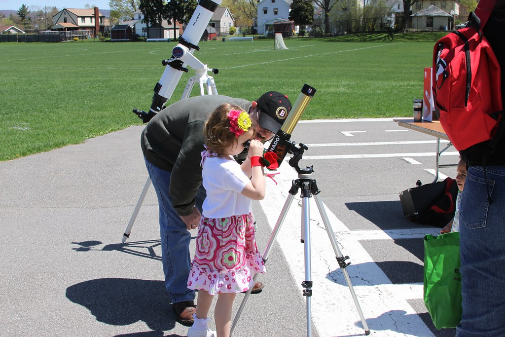Earth Day - Solar Observing through a personal solar telescope