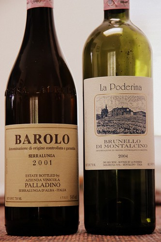 Barolo vs Brunello