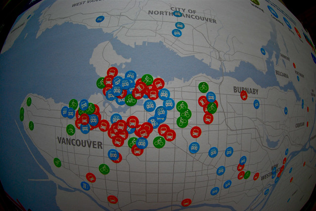 Northern Voice transportation map