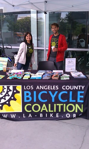 LACBC tabling yet another bike event!
