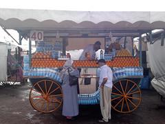 Orange juice sellers on Djemaa el Fna (Mark_Bellingham) Tags: orange juice morocco marrakech seller jamaaelfna