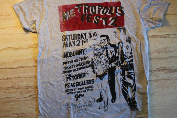 2011/06/06 Metropolise Fest 2 Shirt (Grey)