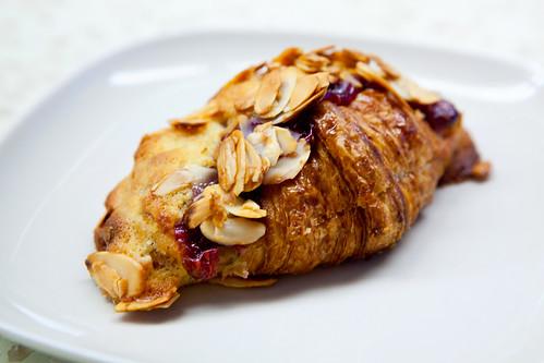 Raspberry Almond Croissant