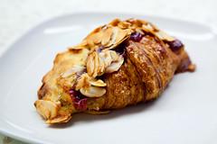 Raspberry Almond Croissant (thewanderingeater) Tags: nyc dessert manhattan patisserie bakery greenwichvillage millefeuille