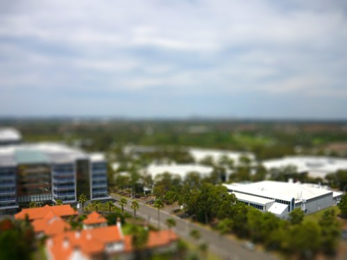 Tiltshift: Olympic Park in Sydney