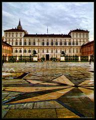 Palazzo Reale, Torino (Andrea Rapisarda) Tags: italy beauty geotagged torino italia palace turin palazzoreale piazzacastello tonemapped tonemapping mywinners abigfave sonyh9 thatsclassy andrearapisarda geo:lat=45071768 geo:lon=7686889
