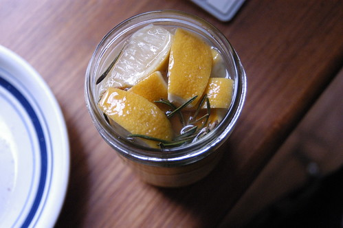 we are making preserved lemons