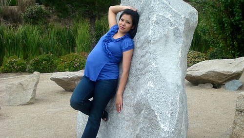 pregnant woman wearing jeans and top