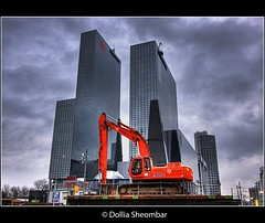 Rotterdam (DolliaSH) Tags: city longexposure light urban haven holland color water colors station skyline architecture night train photoshop canon reflections river photography lights noche photo construction rotterdam europe foto nightshot metro photos nacht harbour manhattan nederland thenetherlands tram le maas nuit efs 1022mm notte hdr stad trein 1022 nn noch nationalenederlanden weena cs4 blueribbonwinner photomatix rotterdan 50d tonemapping nachtopname tonemap manhattanaandemaas detailsenhancer dollia dollias sheombar