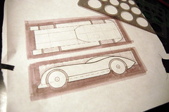 2009 Pinewood Derby Car #1 (Step 1, sketch) (cdubya1971) Tags: wood ohio car race design boyscouts 2009 derby pinewood cubscouts bsa pinewoodderby csca gravitycar pinecar pinewoodderbycar pinewoodderbycardesign