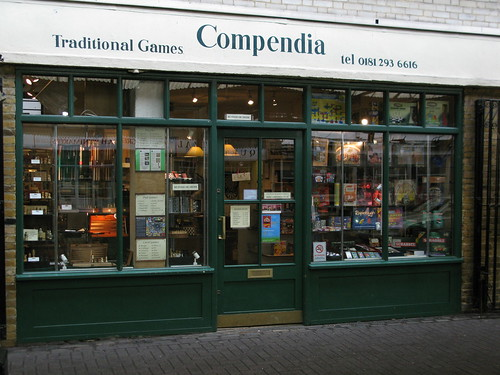 Compendia Traditional Games in Greenwich