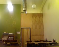 New wall @ Blossom