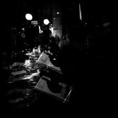Rewind (gullevek) Tags: blackandwhite 6x6 japan dark geotagged lights tokyo fuji iso400 doubleexposure lofi 日本 東京 銀座 holga120cfn breakfastclub モノクロ 中央区 fujineopanpresto400 epsongtx900 geo:lat=35671849 geo:lon=139761602