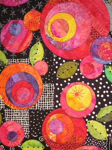 Closeup detail on Quilt
