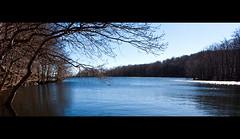 Winter in the Hamptons (Annamon) Tags: winter naturaleza mountains water agua natura pantano arbres invierno montaa aigua panta montseny hivern joshrouse winterinthehamptons canon1855is canon40d sortidazz santafedelmonseny