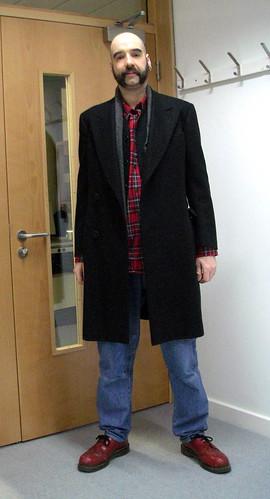 wool scarf coat remix jeans cashmere wardrobe griffin tartan skinhead docmartens stussy justifiedsinner