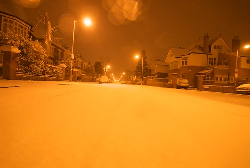 Snow on Hazlewell Road