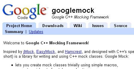 googlemock