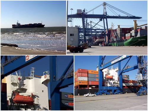 Port in Charleston
