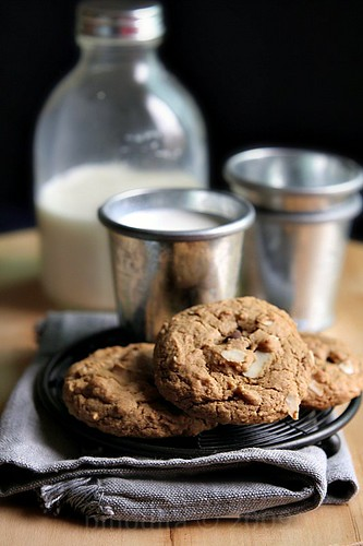 Milky Almond Cookies