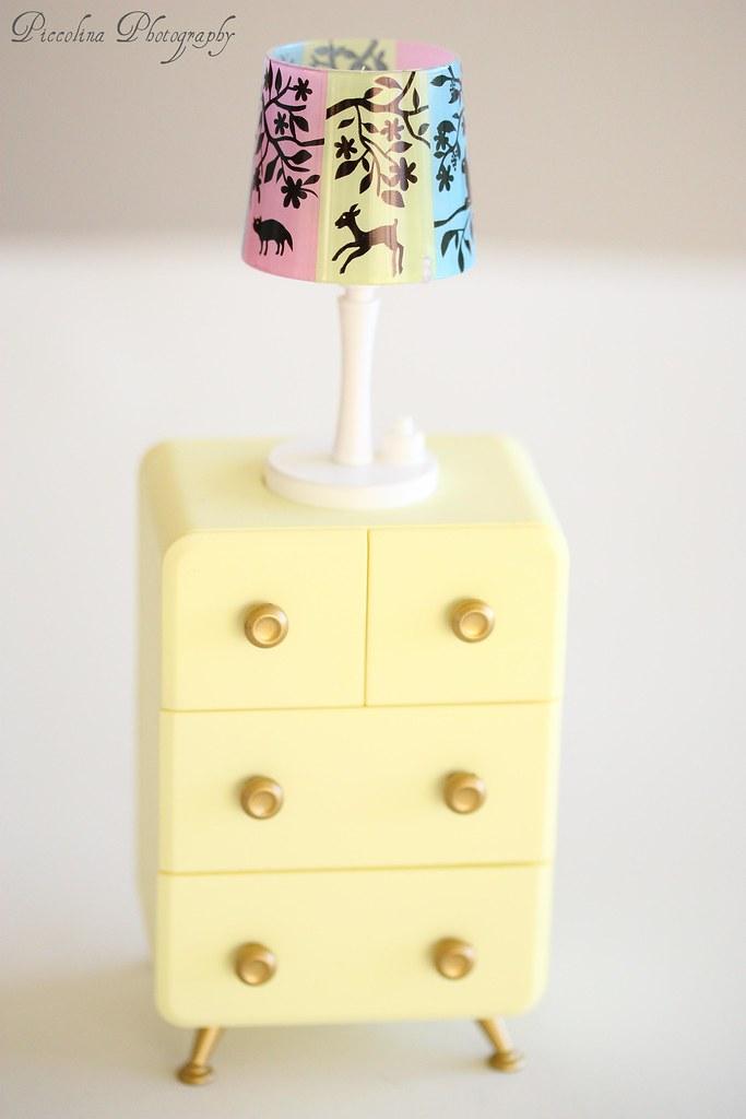A teeny-tiny dresser for all your teeny-tiny dolly family members