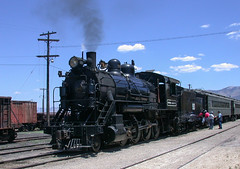 Nevada Northern Railroad (706) (DB's travels) Tags: nevada ely nnry nevadanorthernrailway