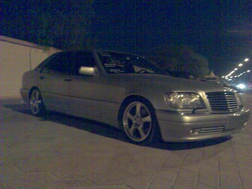 Mercedes+w140+custom