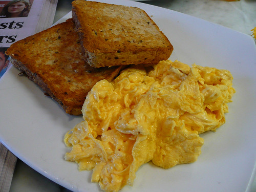 Scrambled Egg Toast Recipe — Dishmaps