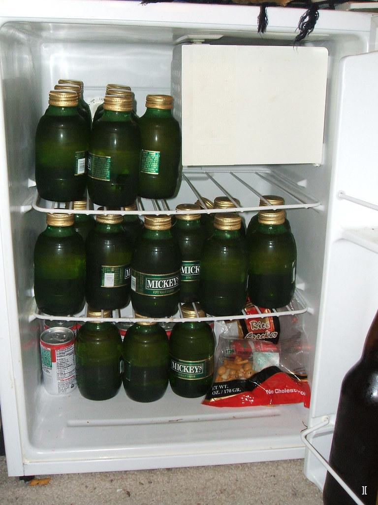 mickeys in the fridge