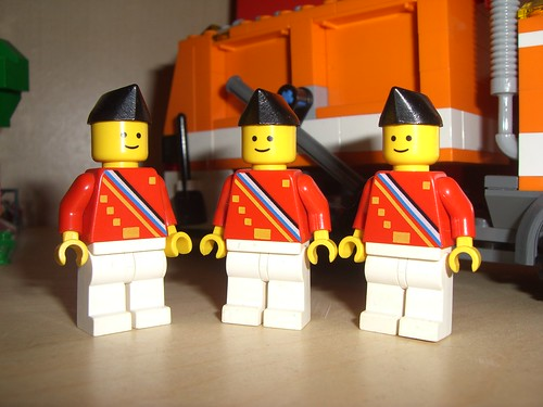Lego Ambassador minifigs