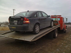 Volvo Being Towed