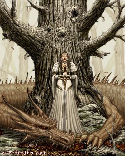 Princess Dragon by Chris Dien