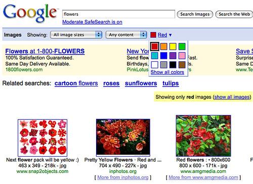 Google Image Color Picker