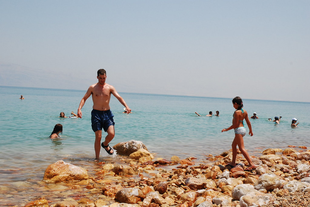 Ein Gedi Beach, Dead Sea, Israel