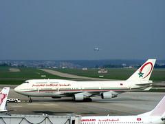 Royal Air Maroc Boeing 747-400 CN-RGA @ ORY (slasher-fun) Tags: airport tug boeing ram boeing747 747 orly pushback b747 744 boeing747400 aéroport ory b744 royalairmaroc parisorly lfpo cnrga orlyairportaéroportdorly
