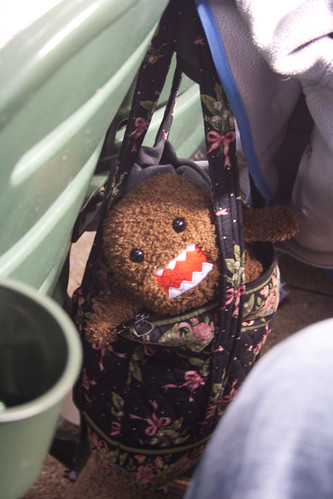Domo-kun was at the game too