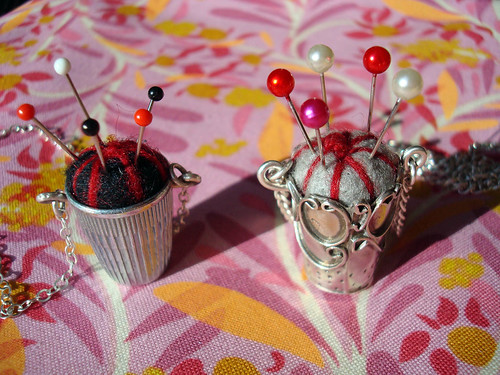 thimble necklaces