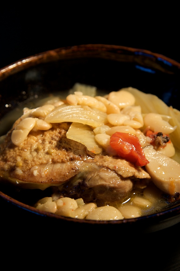 Cassoulet with Fennel and Sicilian Sausage