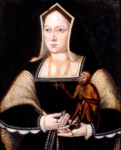 Catherine of Aragon, Queen of England, w by lisby1, on Flickr