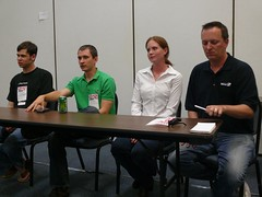 Community track discussion panel
